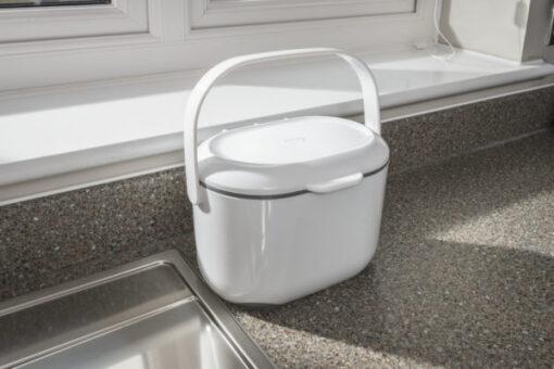 Compost Caddy wit /grijs