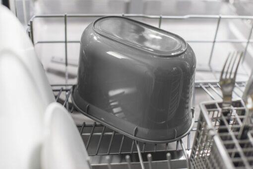 Compost Caddy wit / grijs binnen emmer