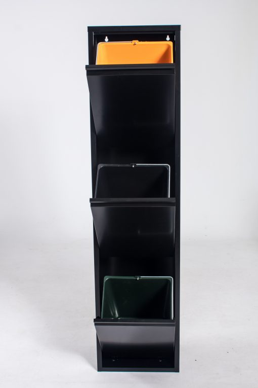 Brender, vuilnisbak met drie vakken